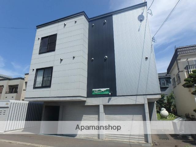 北海道札幌市西区、琴似駅徒歩17分の築9年 3階建の賃貸アパート