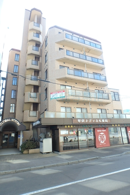 北海道札幌市西区、琴似駅徒歩4分の築33年 7階建の賃貸マンション