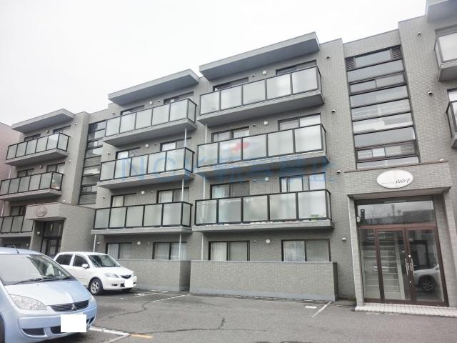 北海道札幌市西区、琴似駅徒歩19分の築17年 4階建の賃貸マンション