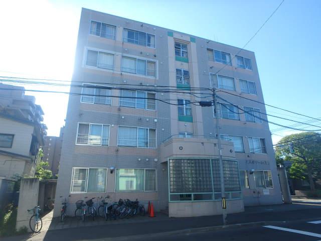北海道札幌市中央区、西28丁目駅徒歩8分の築28年 5階建の賃貸マンション