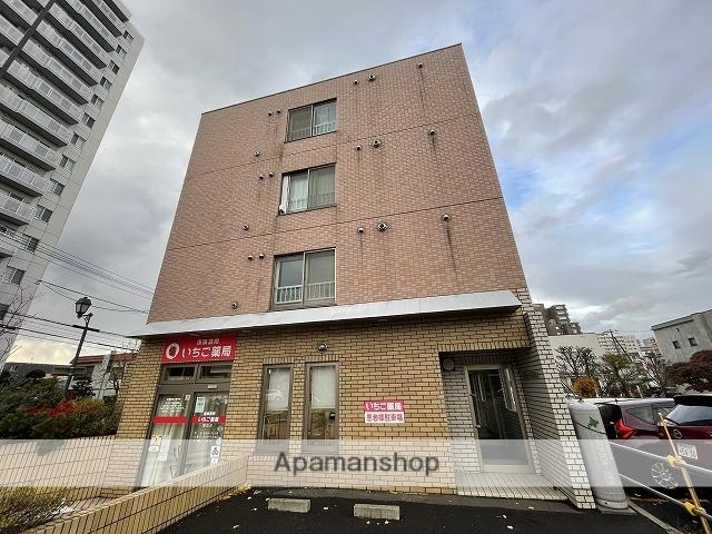 北海道札幌市西区、琴似駅徒歩10分の築17年 4階建の賃貸マンション