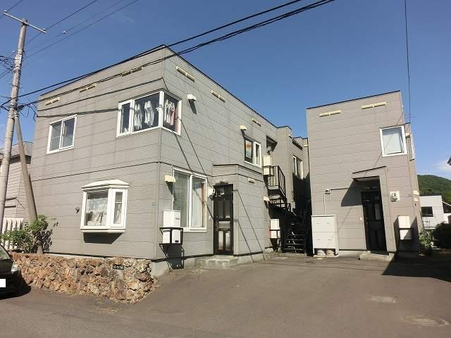 北海道札幌市西区の築30年 2階建の賃貸アパート