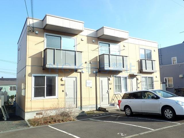 北海道札幌市手稲区、手稲駅徒歩20分の築11年 2階建の賃貸アパート
