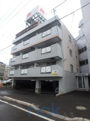 北海道札幌市中央区、バスセンター前駅徒歩6分の築27年 4階建の賃貸マンション