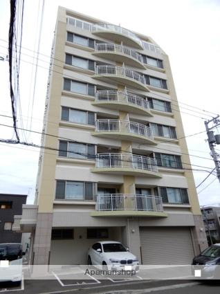北海道札幌市西区、琴似駅徒歩14分の築1年 9階建の賃貸マンション