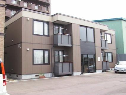 北海道札幌市北区、新川駅徒歩18分の築14年 2階建の賃貸アパート