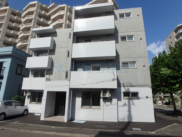 北海道札幌市西区、発寒駅徒歩10分の新築 4階建の賃貸マンション