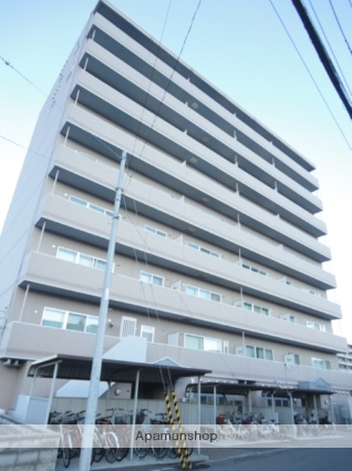 北海道札幌市西区、発寒中央駅徒歩16分の築15年 9階建の賃貸マンション