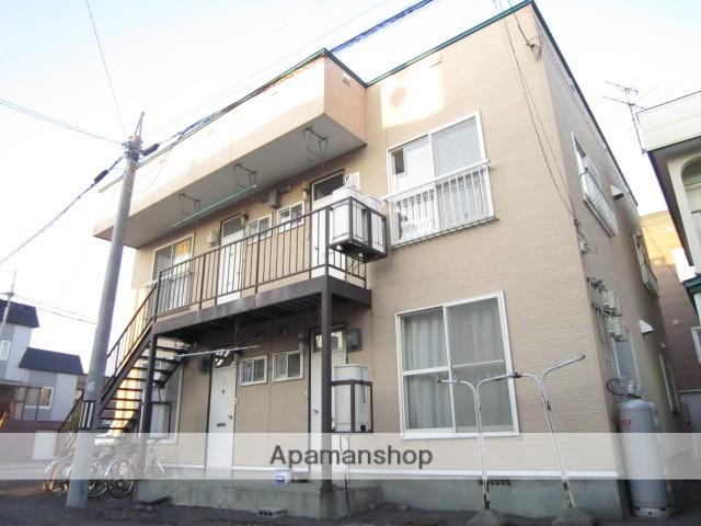 北海道札幌市北区、八軒駅徒歩20分の築39年 2階建の賃貸アパート