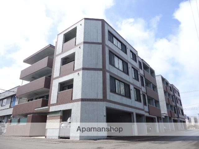 北海道札幌市中央区、二十四軒駅徒歩5分の築4年 4階建の賃貸マンション