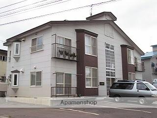 北海道札幌市北区、新川駅徒歩10分の築25年 2階建の賃貸アパート