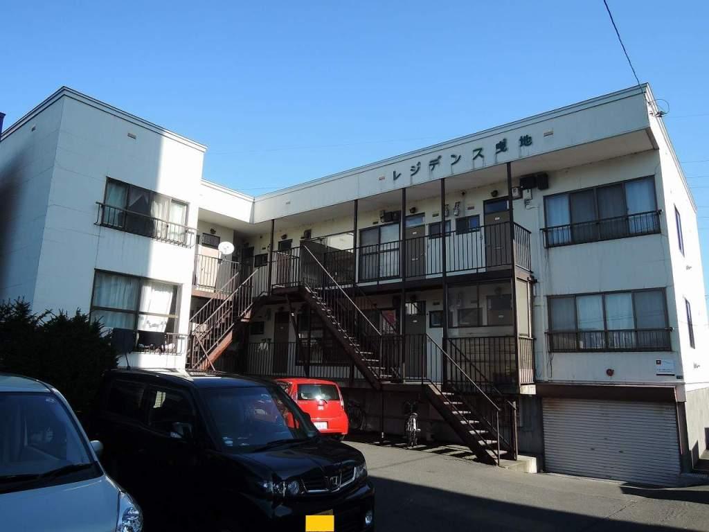 北海道札幌市西区、手稲駅中央バスバス29分発寒10条2下車後徒歩5分の築29年 2階建の賃貸アパート