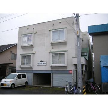 北海道札幌市北区、新川駅徒歩4分の築25年 3階建の賃貸アパート
