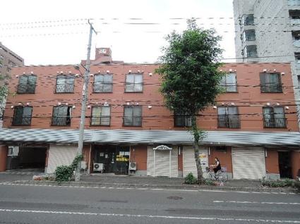 北海道札幌市中央区、山鼻19条駅徒歩8分の築28年 3階建の賃貸マンション