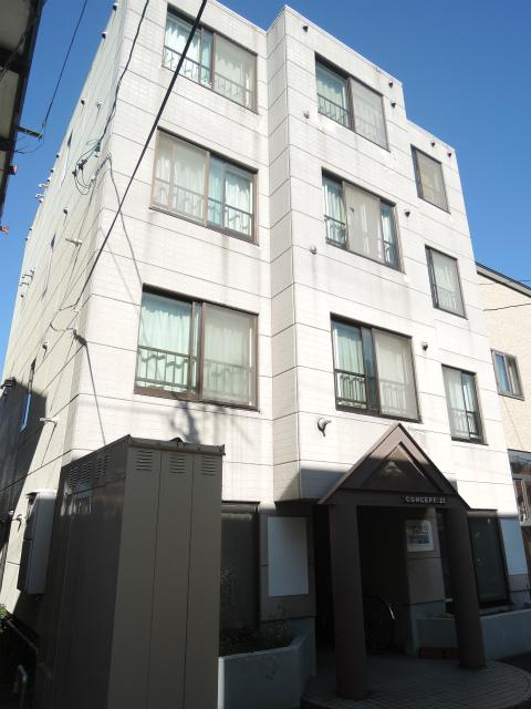 北海道札幌市中央区、二十四軒駅徒歩9分の築28年 4階建の賃貸マンション