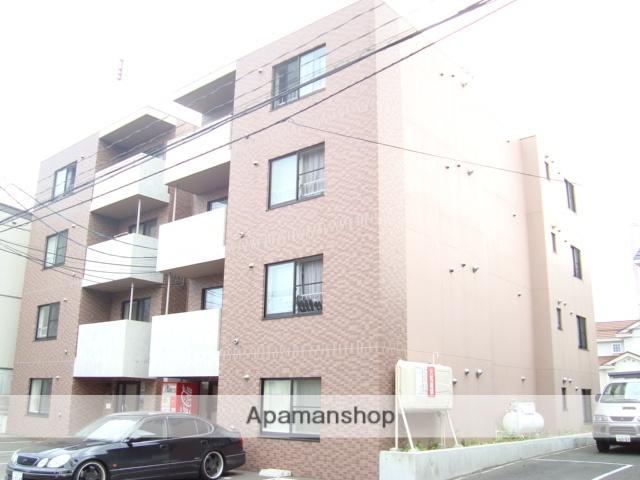 北海道札幌市西区、琴似駅徒歩20分の築13年 4階建の賃貸マンション
