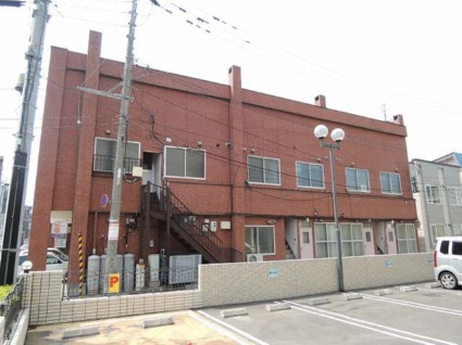 北海道札幌市中央区、西18丁目駅徒歩11分の築27年 2階建の賃貸アパート