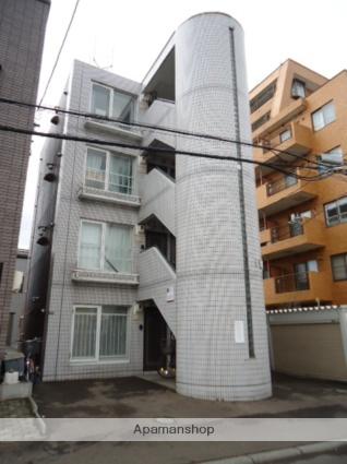 北海道札幌市中央区、二十四軒駅徒歩10分の築28年 4階建の賃貸マンション