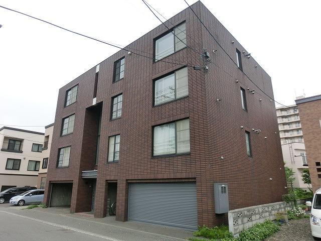 北海道札幌市西区、発寒中央駅徒歩4分の築25年 4階建の賃貸マンション
