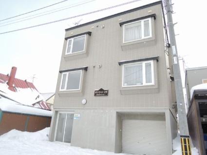 北海道札幌市手稲区、稲積公園駅徒歩5分の築19年 2階建の賃貸アパート