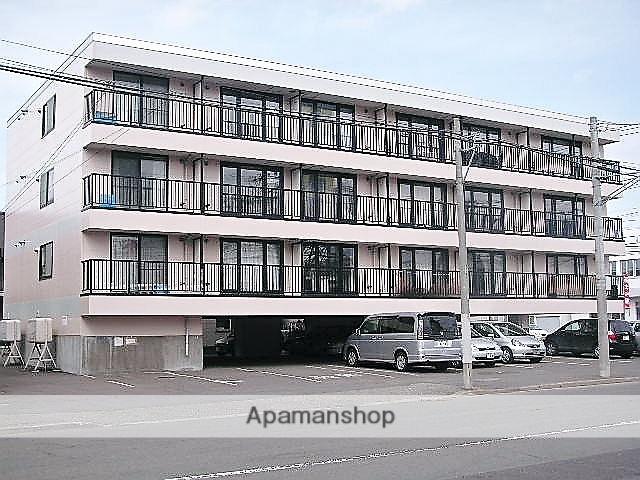 北海道札幌市手稲区、手稲駅徒歩15分の築21年 4階建の賃貸マンション