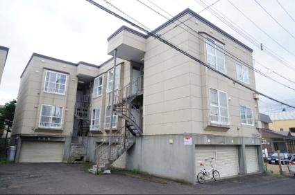 北海道札幌市手稲区、稲穂駅徒歩16分の築23年 2階建の賃貸アパート