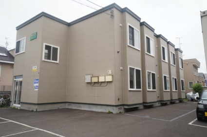 北海道札幌市手稲区、手稲駅JRバスバス15分工業大学前下車後徒歩8分の築13年 2階建の賃貸アパート