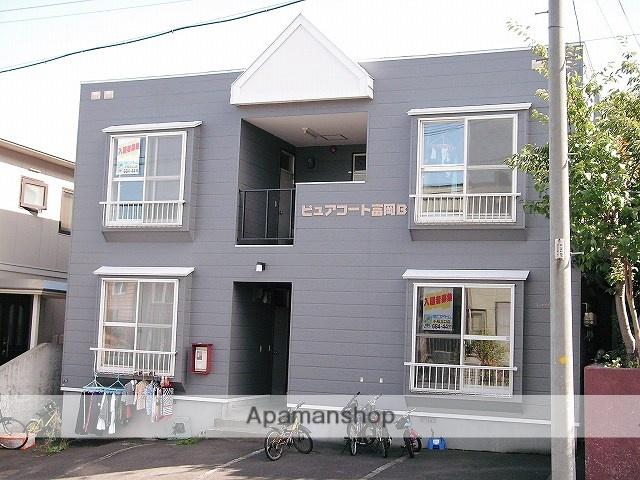 北海道札幌市手稲区の築27年 2階建の賃貸アパート