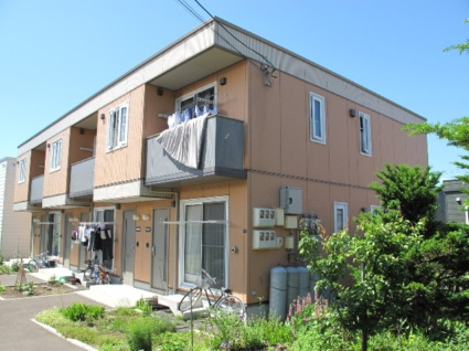 北海道札幌市手稲区、ほしみ駅徒歩18分の築12年 2階建の賃貸アパート