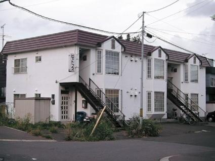 北海道札幌市手稲区、稲穂駅徒歩38分の築29年 2階建の賃貸アパート