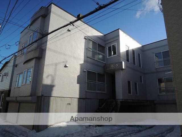 北海道札幌市手稲区、手稲駅JRバスバス11分共栄橋下車後徒歩4分の築27年 2階建の賃貸アパート