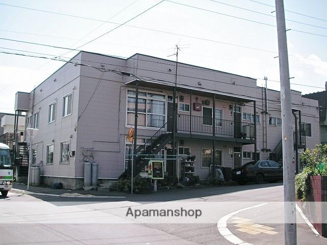 北海道札幌市手稲区、稲穂駅徒歩23分の築27年 2階建の賃貸アパート
