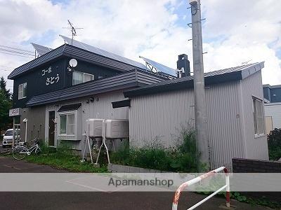 北海道札幌市北区、あいの里教育大駅徒歩18分の築25年 2階建の賃貸アパート