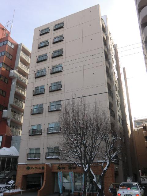 北海道札幌市北区、北24条駅徒歩11分の築32年 10階建の賃貸マンション