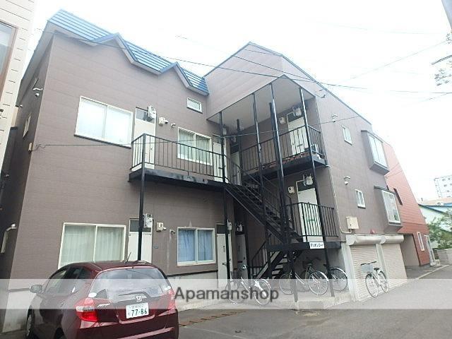 北海道札幌市東区、北34条駅徒歩8分の築27年 2階建の賃貸アパート