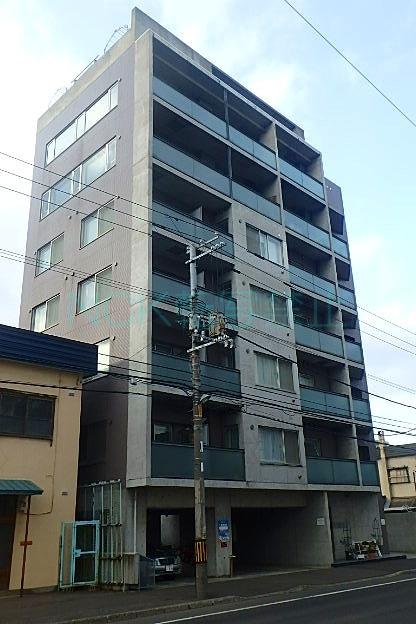 北海道札幌市東区、札幌駅徒歩9分の築16年 8階建の賃貸マンション