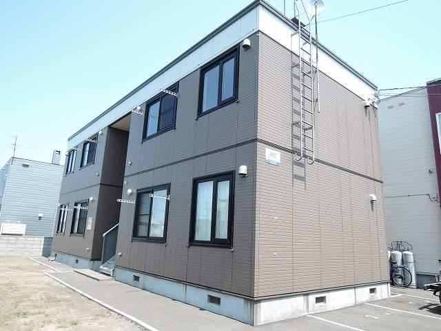 北海道札幌市東区、栄町駅徒歩12分の築14年 2階建の賃貸アパート