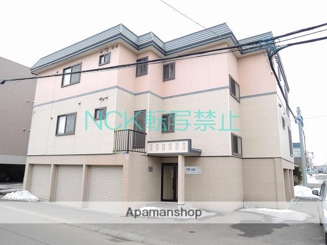 北海道札幌市北区、百合が原駅徒歩13分の築11年 3階建の賃貸アパート