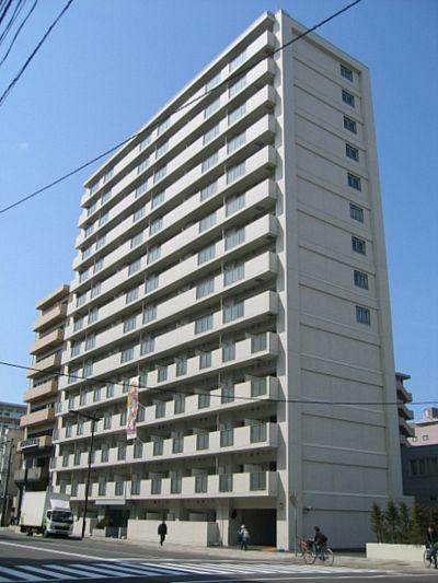 北海道札幌市北区、北24条駅徒歩13分の築8年 14階建の賃貸マンション
