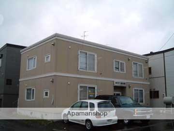北海道札幌市東区、苗穂駅徒歩20分の築25年 2階建の賃貸アパート