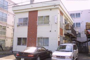 北海道札幌市東区、新道東駅徒歩7分の築29年 2階建の賃貸アパート
