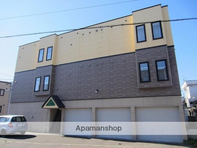 北海道札幌市東区、新道東駅徒歩11分の築10年 3階建の賃貸アパート