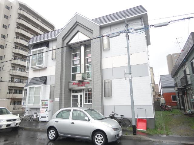 北海道札幌市東区、栄町駅徒歩5分の築27年 2階建の賃貸アパート