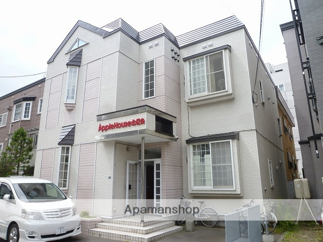 北海道札幌市東区、栄町駅徒歩4分の築28年 2階建の賃貸アパート