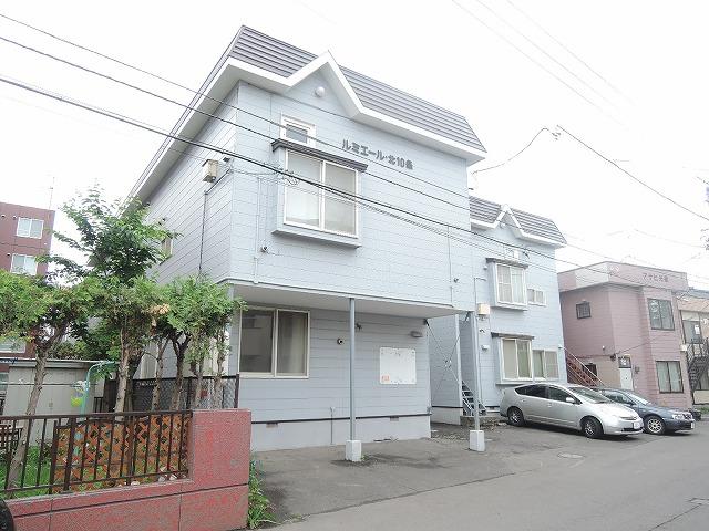 北海道札幌市東区、苗穂駅徒歩18分の築30年 2階建の賃貸アパート
