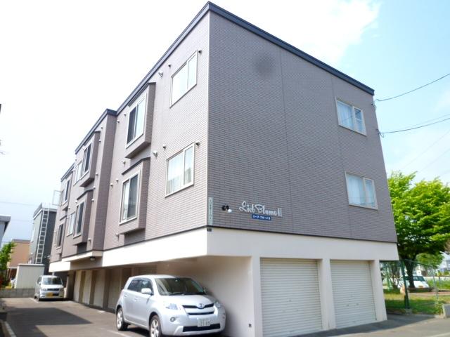 北海道札幌市東区、太平駅徒歩3分の築10年 3階建の賃貸アパート