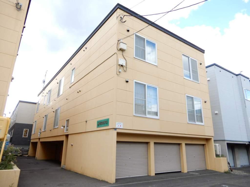 北海道札幌市東区、北34条駅徒歩20分の築14年 2階建の賃貸アパート