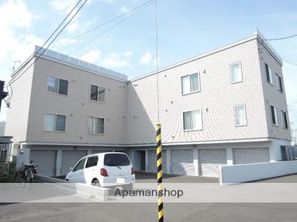 北海道札幌市東区、太平駅徒歩6分の築5年 3階建の賃貸アパート