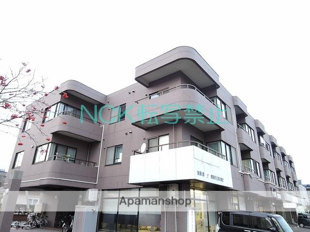 北海道札幌市北区、拓北駅徒歩21分の築24年 3階建の賃貸マンション