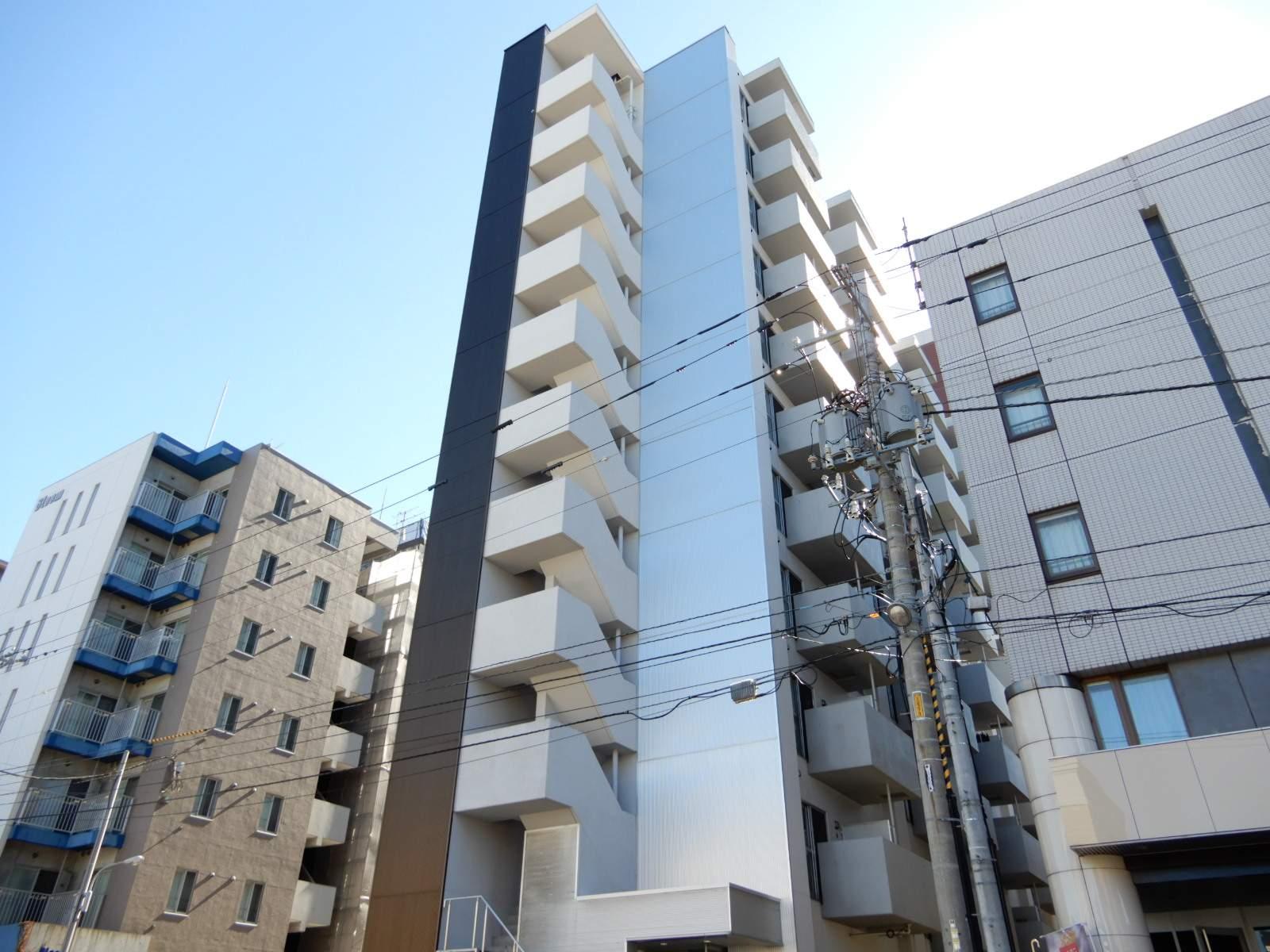 北海道札幌市北区、北24条駅徒歩10分の築9年 11階建の賃貸マンション